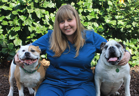 Kim Campbell, Veterinary Technician
